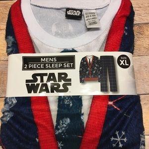 New Star Wars Christmas pajamas men's adult XL